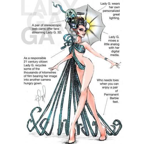 Lady Gaga NY Times Shoot